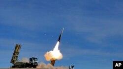 Một tên lửa của Iran.