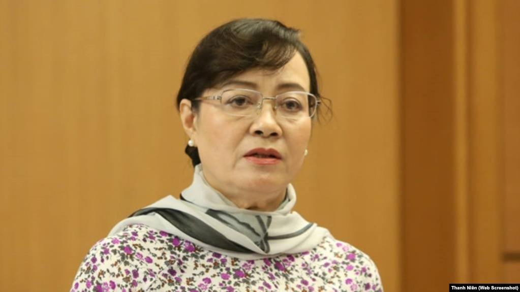 Chủ tịch HĐND TPHCM Nguyễn Thị Quyết Tâm.