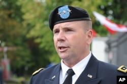 前驻欧洲美军总司令的霍奇斯将军(2016年资料照)
