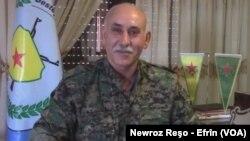 serokê nû yê desteya berevanî û xweparastinê li Kantona Efrînê Behcet Ebdo