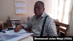 L'avocat Thomas Dissake n'a jamais retrouvé son épouse, une notaire, depuis le déraillement d'Eseka, à Youandé, le 18 octobre 2017. (VOA/Emmanuel Jules Ntap)