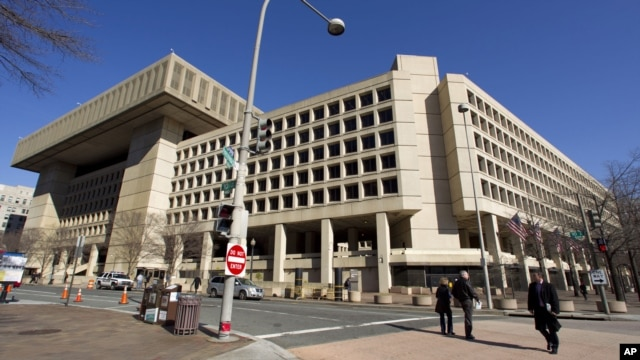 The Federal Bureau of Investigation (FBI) headquarters in Washington.