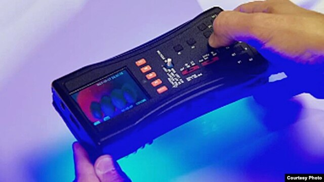 FDA-developed Counterfeit Detection Device, called CD-3.