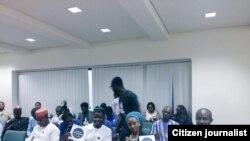 Shugabannin kungiyoyin matasan Najeriya da suka kasance a Majalisar Wakilai