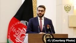 افغان صدر کے مشیر برائے قومی سلامتی حمد اللہ محب (فائل فوٹو)