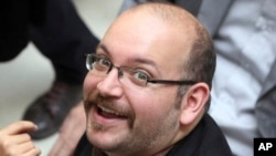FILE - Jason Rezaian, an Iranian-American correspondent for the Washington Post, in Tehran, Iran.