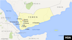 A rebel-run news agency claims 11 civilians were killed in a coalition airstrike in the northern city of Saada, Yemen.