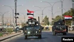 На въезде в Киркук, Ирак. 16 октября 2017 г.