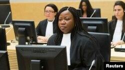 Bà Bensouda nói rằng những mưu toan hăm dọa nhân chứng và sự thiếu hợp tác của chính phủ Kenya gây phương hại cho việc truy tố, nhưng văn phòng của bà sẽ không bỏ cuộc.