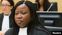 Fatou Bensouda, la procureure de la Cour Pénale Internationale.
