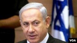 Perdana Menteri Israel, Benyamin Netanyahu: tindakan militer Israel adalah tindakan bela diri.