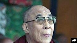 西藏流亡精神领袖达赖喇嘛
