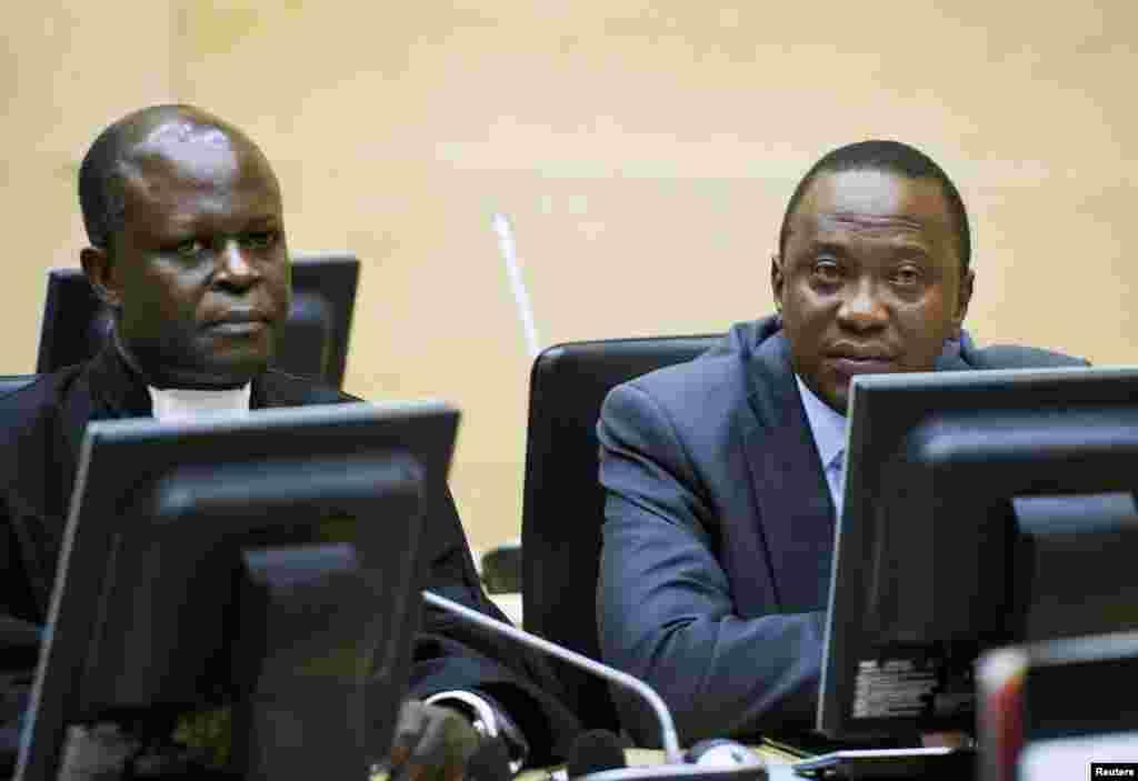 Uhuru Kenyatta ahudhuria kikao cha kesi ya awali kwenye mahakama ya ICC The Hague