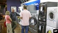 미국 플로리다주 올랜도 시의 전자제품 가게. (자료사진)