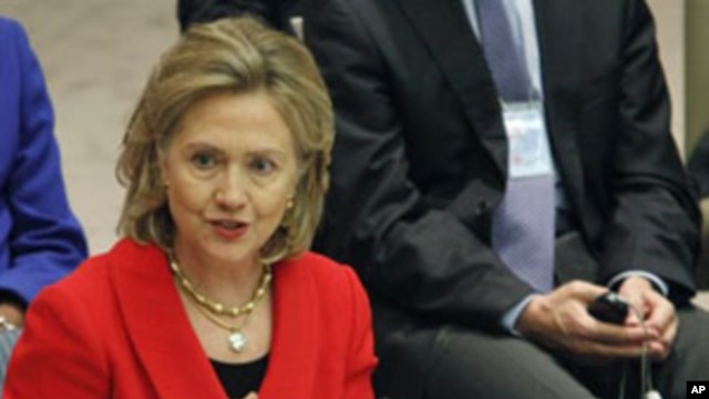 US Secretary of State Hillary Rodham Clinton (FILE).