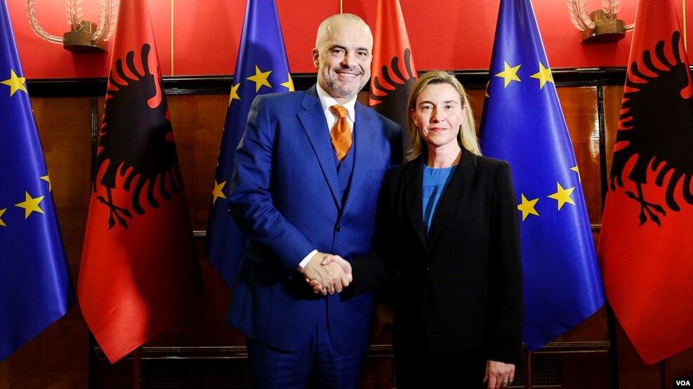 Mogherini mbi reformimin e drejtësisë shqiptare