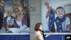 Kota Brussels, Belgia menjadi tuan rumah pertemuan dua hari negara-negara Uni Eropa untuk membahas penguatan nilai mata uang euro (18/10).