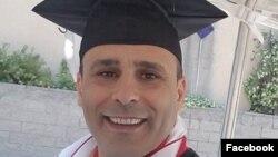 رضا (رابین ) شاهینی شهروند آمریکایی ایرانی تبار ساکن کالیفرنیا که ۱۱ ژوئیه در ایران دستگیر شده است