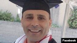 رضا (رابین ) شاهینی شهروند آمریکایی ایرانی تبار ساکن کالیفرنیا که ۱۱ ژوئیه در ایران دستگیر شده است.
