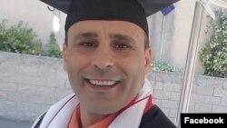 이란계 미국인 남성 골람레즈 레자 샤히미 씨. 지난 7월 이란에 살고 있는 가족을 방문했다가 이란혁며웃비군에 체포되었다. (자료사진)