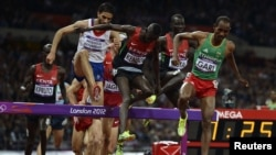 Olympics steeplechase final kemboi