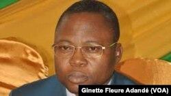 Simplice Dato, conseiller démissionnaire, à Cotonou, le 7 février 2018.