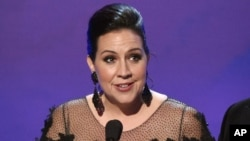 """Kristen Anderson-López ha sido galardonada con un Oscar por """"Frozen""""."""
