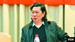 广西师大出版社集团原董事长何林夏(苹果日报图片)