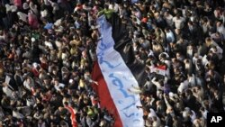 11月25日解放廣場的示威者