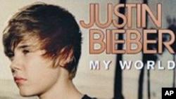 加拿大年方十六岁的青少年男歌手Justin Bieber