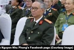 Nhà báo-nhà văn Nguyễn Như Phong tại Đại hội Hội Nhà văn Việt Nam, 24/11/2020