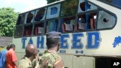 Miongoni mwa mashambulizi yaliyopita ni kushambuliwa kwa basi la Taheed.