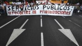 Demonstracije širom Evrope zbog vladinih mera štednje