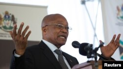 Prezidan Afrik di Sid la, Jacob Zuma.