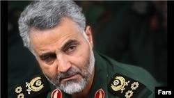 """فرمانده """"کم حرف"""" نیروی قدس از حضور ایران در سوریه می گوید."""