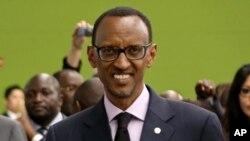 Presiden Rwanda Paul Kagame (Foto: dok). Ketidakhadiran Kagame dalam KTT negara Afrika Tengah, Sabtu (24/11) untuk upaya penyelesaian konflik di Kongo mengundang banyak perhatian, karena sebelumnya Rwanda telah dituduh mendukung pemberontak M23 di Kongo.