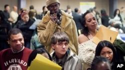 Աշխատանք փնտրողները` Նյու Յորքում (արխիվային լուսանկար)