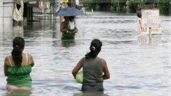 سیل و تند باد به جزیره چینی هاینان حمله کرد