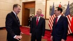 VOA连线(黄耀毅):刘鹤来美谈判第一天,白宫下令调查山寨与盗版品