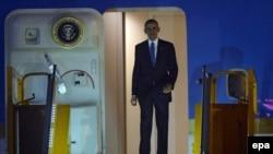 El presidente estadouniense, Barack Obama, llegó a Vietnam, el domingo, 22 de mayo de 2016.