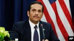د قطر د بهرنو چارو وزیر شیخ محمد بن عبدالرحمان الثاني