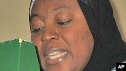 Hajiya Amina Namadi Sambo, matar Mataimakin Shugaban Nigeria.