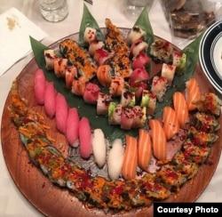 Hasil kreasi sushi chef sushi asal Malang, Rahman Pananto (foto/dok: Rahman Pananto)