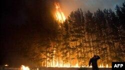 В России территория пожаров сокращается