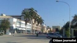 Cidade Benguela, autor Bartolomeu Eduardo. Angola, Abril 2015