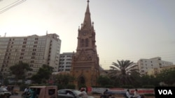 "Karachi's historical monument ""Merewether Tower"""