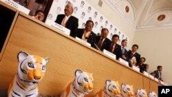 2010年在俄羅斯舉辦的保護野生虎國際論壇。