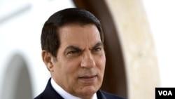 Mantan Presiden Tunisia, Zine El Abidine Ben Ali (foto: dok).
