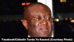 Vice-Premier ministre ministre ya mambi ya Bosembo Célestin Tunda ya Kasende, Kinshasa, 3 mars 2020 (Facebook/Célestin Tunda Ya Kasende)