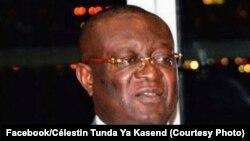 Le ministre de la Justice Célestin Tunda ya Kasende, à Kinshasa, le 3 mars 2020. (Facebook/Célestin Tunda Ya Kasende)